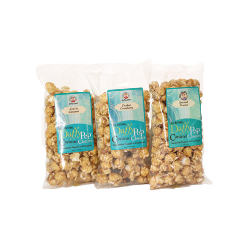 Daffy Pop Caramel Clusters Sample Pack